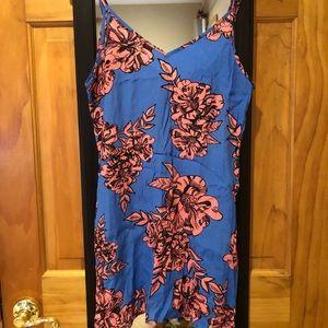 MINK PINK Slip Dress Print Size Small